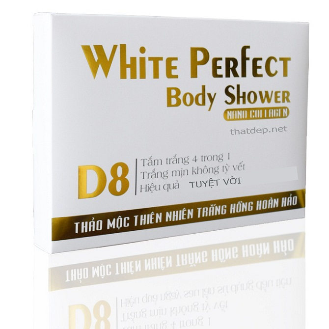 Kem Tắm Siêu Trắng Top White Perfect Body Shower